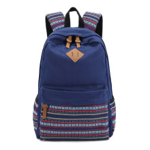 Keness Korean travel backpack student bag foreign trade canvas backpack