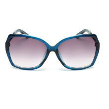 XQ-HD Big Frames Eyeglasses Women Square Sunglasses Gradient Lens -Onesize - Blue
