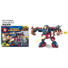 Sy Bricks 994 A Capt America Superhero Blue