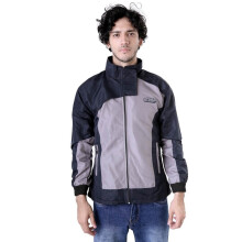 G-SHOP - MEN SWEATER JAKET HOODIES DISTRO PRIA - BHJ 1266 - ABU SIZE- M