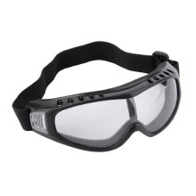 [COZIME] Snowboard Dustproof Sunglasses Ski Goggles Lens Frame Glasses Paintball Black