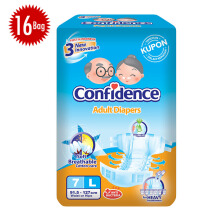 CONFIDENCE Adult Premium [L] Carton 7's x 16 bag
