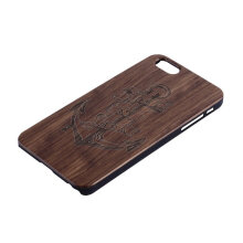 COZIME Natural Wooden Genuine Bamboo Hard Back Cover Case For Apple iPhone 6 Plus Brown