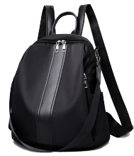 MWS woman backpack polyester 2250 Black