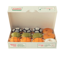 Krispy Kreme - 12 Doughnut (6 Assorted + 6 Glazed) Value Rp 108.000