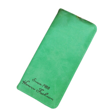 SiYing simple retro matte long women's wallet
