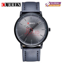 CURREN Top Brand Design Business Quartz Watches Men Luxury Full Steel/Leather Wristwatch 8233