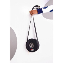 FILA + Pierre Cardin Circle Crossbody Bag Black