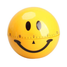 JDWonderfulHouse JDwonderfulhouse Smiley Kitchen Timer Mechanical Kitchen Timers Cooking Timer Alarm