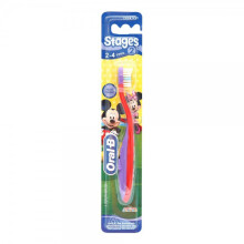 Oral-B Sikat Gigi Bayi Stages 2 (2-4 Years) Girl - Color May Vary