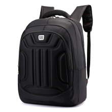 Wei's selected fashion men's wear-resistant waterproof computer backpack hot trend computer backpack B-DSY8801shutiaokuan Black