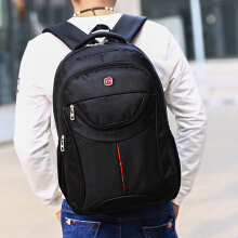 Wei's selection of fashion men's wear-resistant waterproof computer backpack hot selling computer backpack B-ZWX585 Black