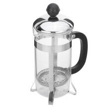 350ML Household Use Stainless Steel Glass French Press Pot Filter Coffee Maker TRANSPARENT