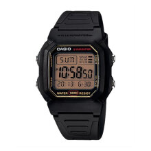 Casio Standard W-800HG-9AVDF - Classic - 10 Year Battery - Resin Band [W-800HG-9AVDF] - Black