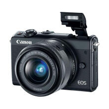 Canon EOS M100 Kit EF-M 15-45mm IS STM + EF-M 22mm (Black)