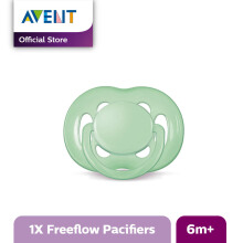 AVENT SCF178/14 Soother 6-18m Single Free Flow - Green