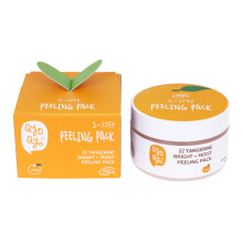 QYO QYO TANGERINE BRIGHT+MOIST PEELING PACK 100ml
