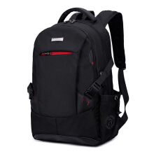 Jantens Men backpack anti-theft business notebook travel bag large capacity backpack Black