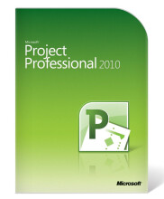 Microsoft Project Professional 2010 1 PC License