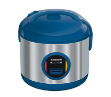Sanken SJ-3030BL Stainless Steel Rice Cooker - Blue [2L] Blue