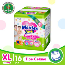 MERRIES Good Skin Popok Pants XL - 16
