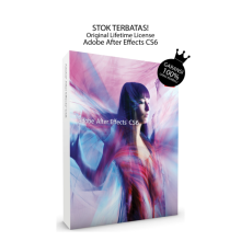 Adobe After Effects CS6 -Win Or Mac-Standard Edition-- Original Lifetime BerGaransi