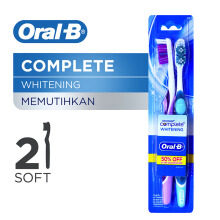 ORAL-B Complete Whitening Soft 2pcs