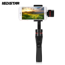 H2 3-axis Handheld Gimbal Multiple Detection for GoPro / Smartphone  - Black