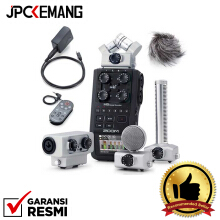 Zoom H6 Recorder with Accessories APH6 EXH6 SGH6 GARANSI RESMI