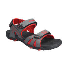 YONEX Men's Sandals - Power Walk - Red/Grey
