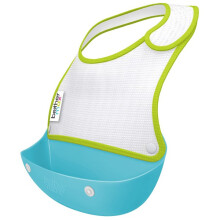 [free ongkir]Brother Max 2 Catch & Fold Baby Bibs 4m+