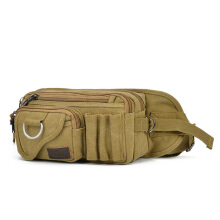 LSLK Outdoor army fan canvas pockets sports belt jogging riding bag