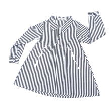 KIDS ICON - Blouse Anak Perempuan CURLY Stripes with Twill Tape - LYB02200180
