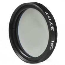 37mm CPL Filter Lens for Canon Nikon DSLR Camera  - Black