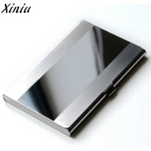 Jantens Card Holder Stainless Steel Silver Aluminium Credit Card Silver