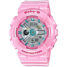 Casio Baby-G BA-110CA-4A Sports waterproof electronic watch-Pink