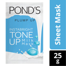 PONDS Instabright Tone Up Milk Mask Plump Up 25gr
