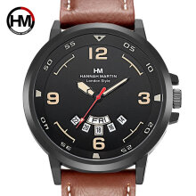 Quartz watches Men's Watch Man Watch With Calendar Function Hannah Martin Casual Sports Quartz Wristwatch