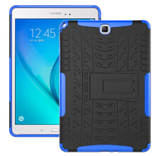 RockWolf Samsung Tab A 9.7 inch / T550 T555 case TPU anti-fall colorful back clip bracket flat shell