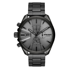 Diesel DZ4484 MS9 Chrono Men Grey Dial Grey  Stainless Steel [DZ4484]