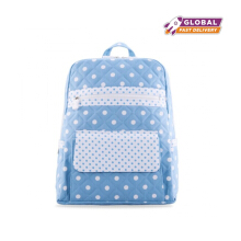 Naraya Polkadot Backpack with Flap Insert NCPD-05 CV37#1