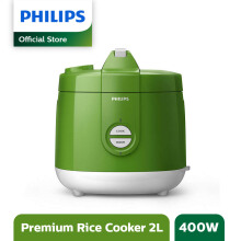 PHILIPS Rice Cooker 2 L HD3129/30 Premium - Green