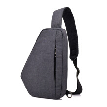 SiYing Casual canvas men's satchel simple chest bag
