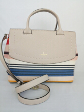 KATE SPADE Celinda Hughes Street Fabric Multi Tone Bag