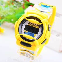 jam tangan pria anak-anak jam rubber band cartoon fashion sport jam