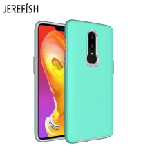 JEREFISH One Plus 6 Case with Shockproof of Heavy Duty Full Protective Anti-Scratch Resistant Dual Layer