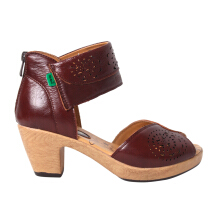 Kickers Ladies Shoes Kcl2163E - Brown