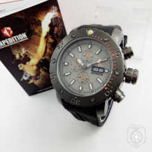 Expedition Pria D45H1045E6374ABUHTM Analog Grey Black