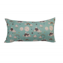 NAMALE Fancy Cushion Cloud and Rain - Light Blue