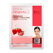 DERMAL Strawberry  Collagen Essence Mask 23g
